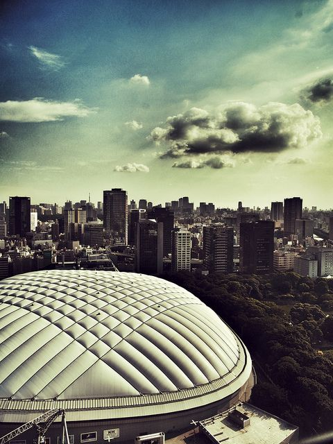 Tokyo Dome, Japan - I wish I can go to Japan, explore Tokyo and come to Tokyo Dome to watch Tohoshinki's concert.