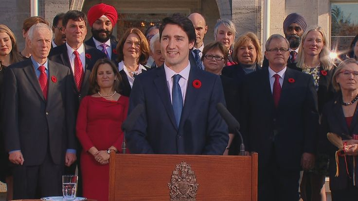 """Justin Trudeau has been sworn in as Canada's 23rd prime minister and introduced a cabinet he says """"looks like Canada."""" Follow CBCNews.ca's continuing live blog."""