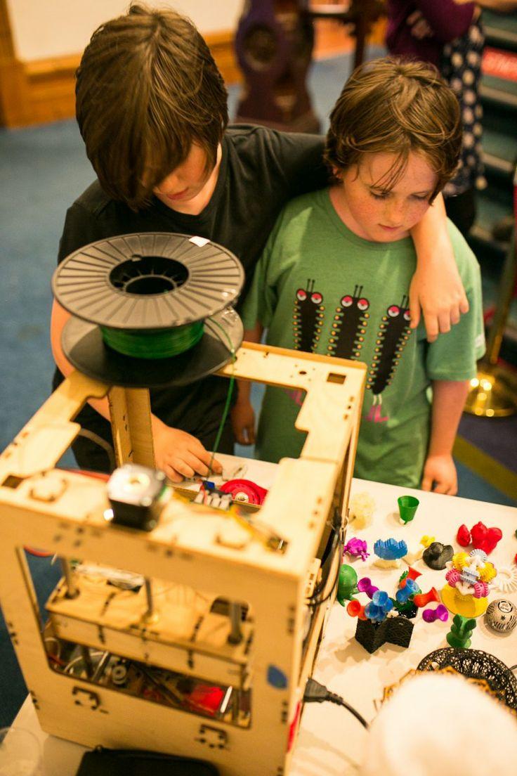 Exploring the 3D printer
