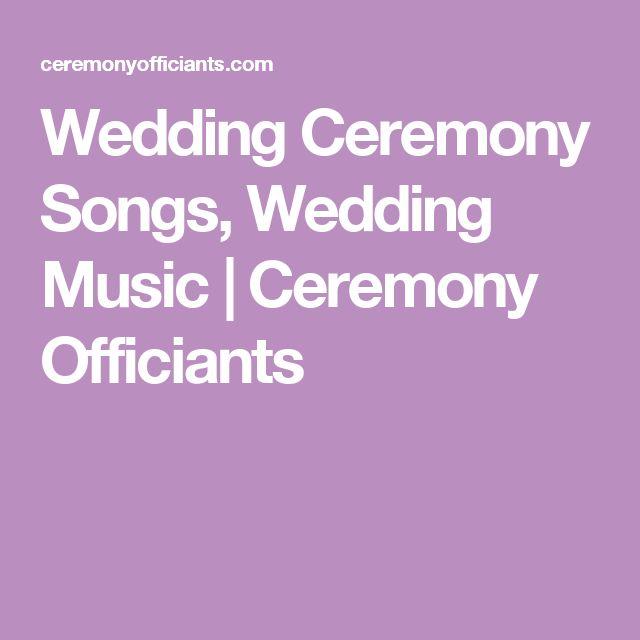 The 25 Best Wedding Ceremony Entrance Songs Ideas On Pinterest