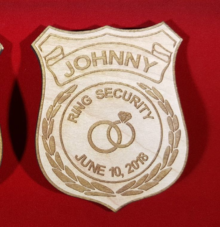 Ring Security Badge, Ring Bearer Badge, Ring Bearer Security Badge, Ring Bearer Gift, Personalized Badge, Star Badge, Security Badge by JCSDesigns2017 on Etsy https://www.etsy.com/listing/515854701/ring-security-badge-ring-bearer-badge