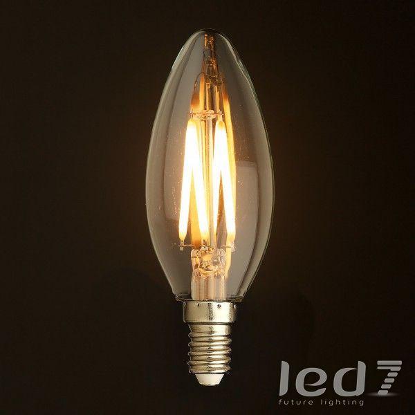 Светодиодная ретро-лампа - Loft Industry Retro LED Candle E14 4W