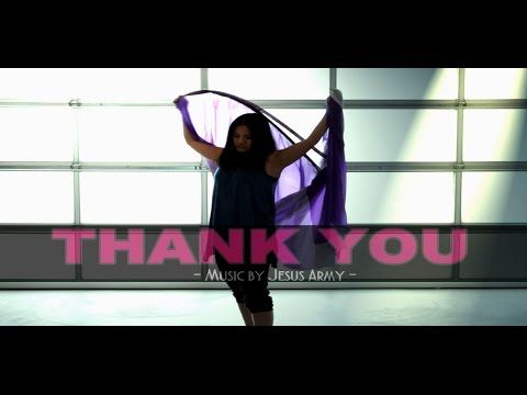 ❥ Praise and Worship Flags Cover Dance (THANK YOU music by Jesus Army) CALLED TO FLAG ft Claire - YouTube