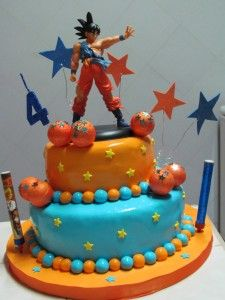 tortas de dragon ball - Buscar con Google