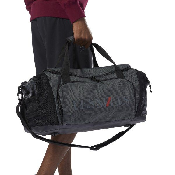5edbe38888 Reebok Unisex LES MILLS Unisex Duffle Bag in Black Size N SZ ...