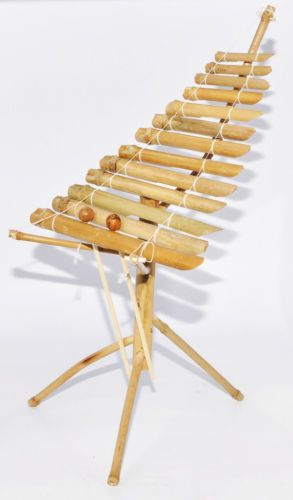 bamboo xylophone how to make