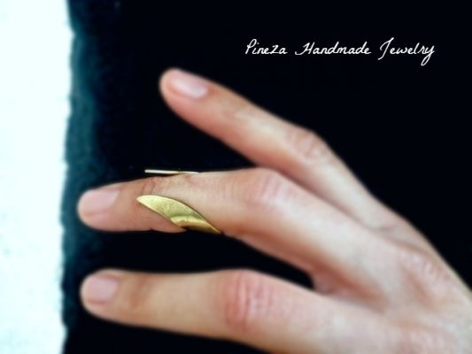 Cevalie | myartshop Δαχτυλίδι για το μικρό δάχτυλο. Φοριέται και στη μέση κάποιου δαχτύλου.