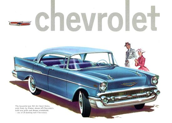 Chevrolet Bel Air Sport Sedan 21 Model 1957                                                                                                                                                      More