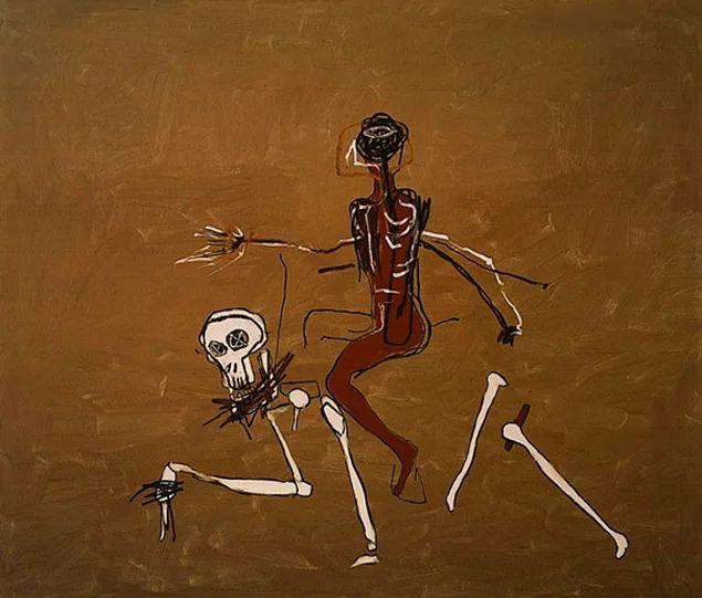 Жан-Мишель Баския. Поездка со смертью. 1988