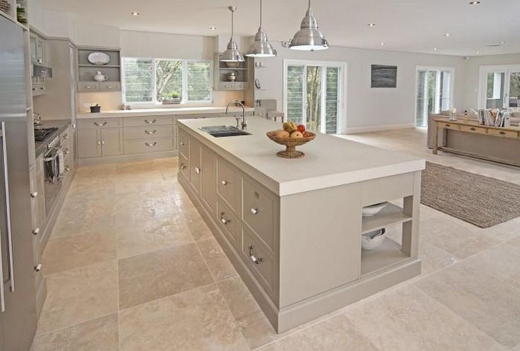 Gorgeous Gorgeous Kitchen Tile Floor Design https://homadein.com/2017/03/19/25-gorgeous-kitchen-tile-floor-design-ideas/
