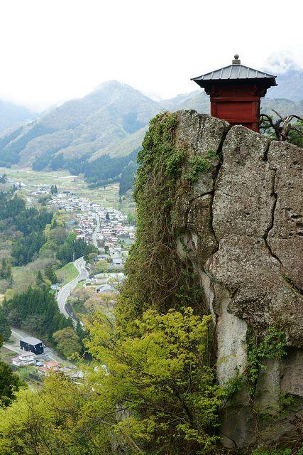 Risshaku-ji in Yamagata, Japanese Temple