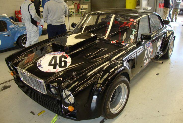 BARC Special Saloon car series 1975 JAGUAR XJ12 Coupe 12 cylinder  6800cc