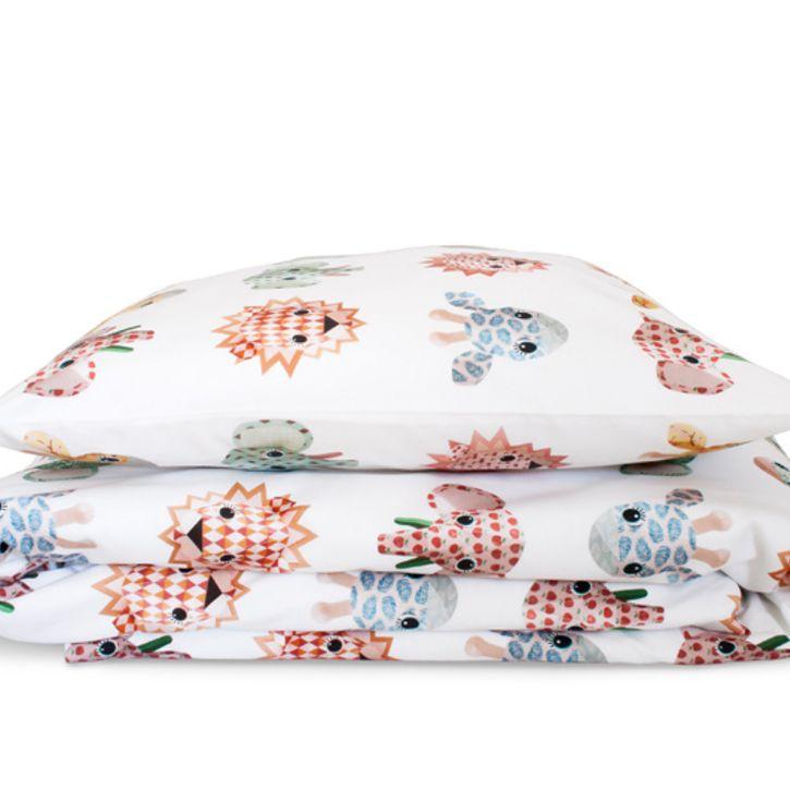 Wild Animals Toddler Duvet bedding set in Sweet by Studio Ditte