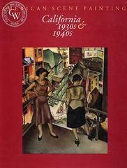 American Scene Painting, California, 1930s and 1940s, a California art book, CaliforniaWatercolor.com