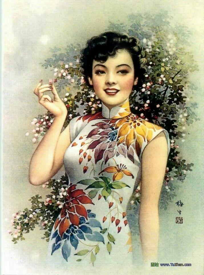 30s Old Shanghai calendar