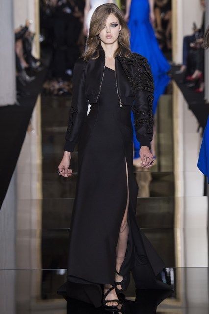 Versace-- Spring/Summer 2015 Couture....Vogue.co.uk