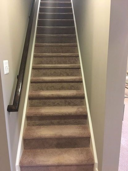 Quick And Easy From Carpet Stairs To Wood Diy Hack | Redoing Stairs With Wood