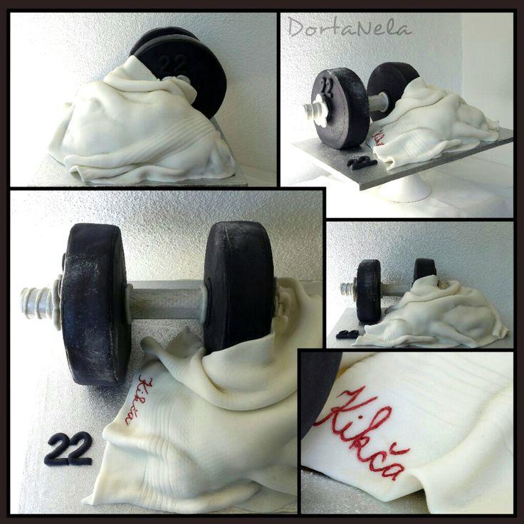 3D - DUMBBELL AND TOWEL (Činka a ručník)