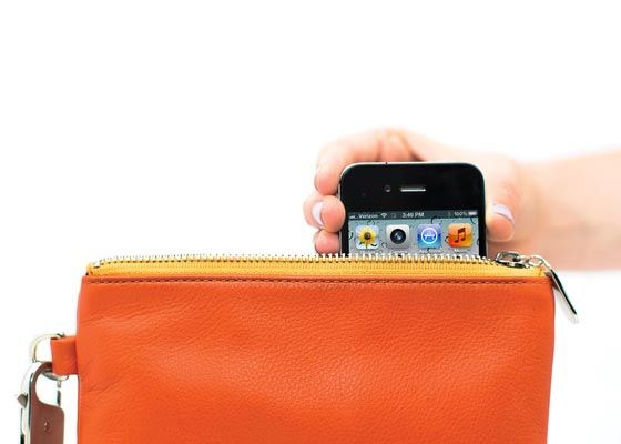 A purse that charges your phone. I NEED ONE!