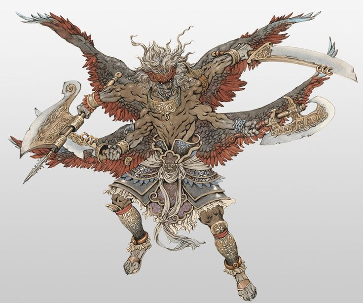 Hundun From Warriors Orochi 3 Ultimate