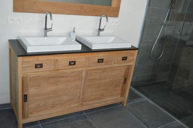 Deze Moderne Dressoir is een badkamer meubel van gemaakt.
