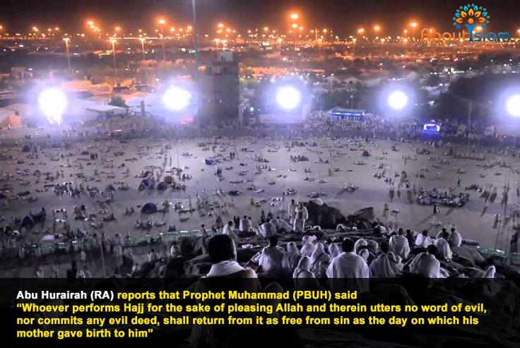 Do Hajj for the sake of Allah! #Hajj2016