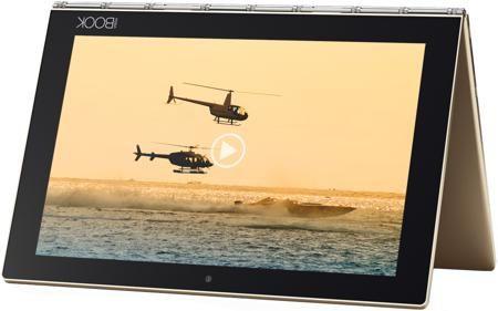 """Lenovo Lenovo Yoga Book YB1-X90L 10.1"""" LTE 64GB (10.1""""/1920х1200/4096Mb/WIFI/Google Android 5.1)  — 45990 руб. —  Мобильность и производительность вступают в новую эру с качественно новым планшетом """"2-в-1"""" Lenovo Yoga Book. С помощью стилуса с настоящими чернилами вы можете мгновенно создавать записи и преобразовывать их в цифровую форму. Печатайте на клавиатуре Halo, которую можно включить в нужный момент. Тонкий, легкий и стильный, портативный Yoga Book дает свободу вашему…"""