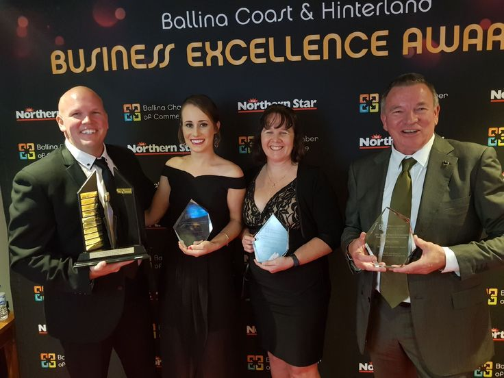 @CollinsHume awarded 2017 Business of the Year, Professional Business of the Year and Sustainable Business of the Year at Ballina Chamber's 2017 #BusinessExcellence #Awards