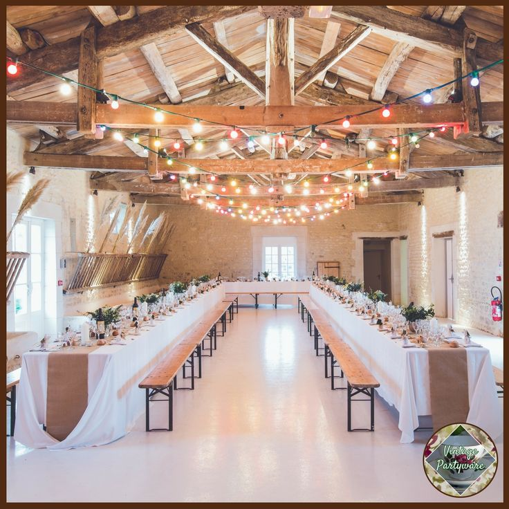 Vintage and Rustic Reception Decorations from Vintage