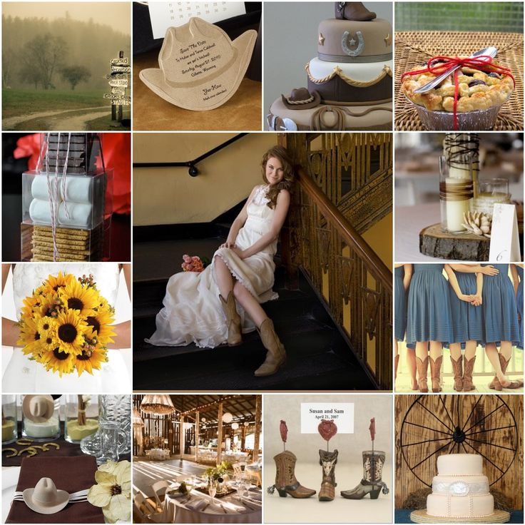96 best DIY Western Wedding Theme Invitations Decorations images