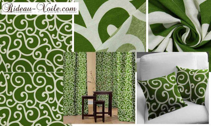 DECOFRENCHRideau décoration interieur blanc vert126.00€DescriptionTissu décoratif résistant à ornements blancs.Conseil pour les petites pièces qui veulent un grand effet :Fixez les attaches de la barre directement au plafond afin que votre rideau prenne de la hauteur. Le plissé impeccable de votre rideau grâce aux oeillets donnera une pièce plus grande et le motif n'en sera que plus impressionnant.AttentionToute commande pour 1 seul rideau doit comporter 2 lignes:1/ l'une, pour le choix du…