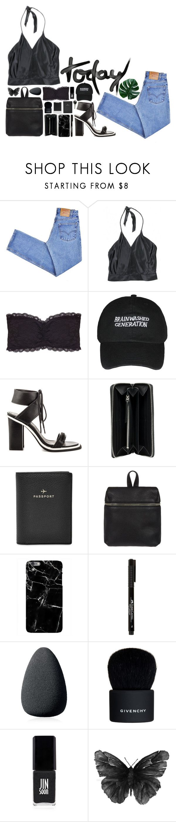 """today"" by rach-tulla ❤ liked on Polyvore featuring Levi's, Zac Posen, Humble Chic, Sol Sana, Balenciaga, Polaroid, FOSSIL, Kara, Christian Dior and Givenchy"