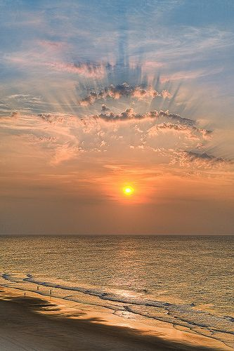 """""""Because there's nothing more beautiful than the way the ocean refuses to stop kissing the shoreline, no matter how many times it's sent away.""""   ― Sarah Kay"""