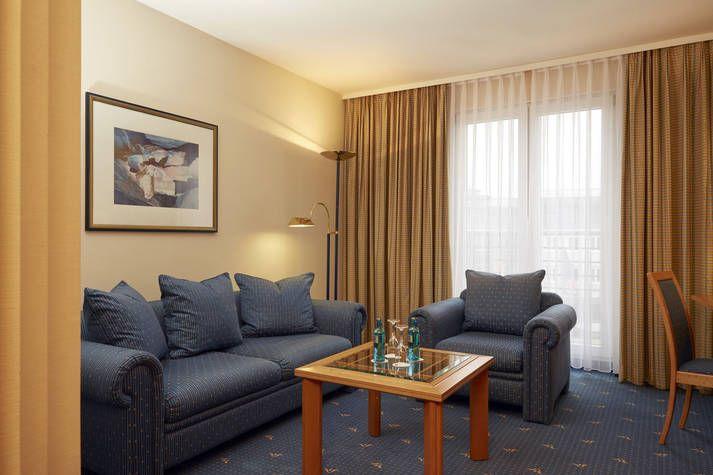 Suite im RAMADA Hotel Magdeburg