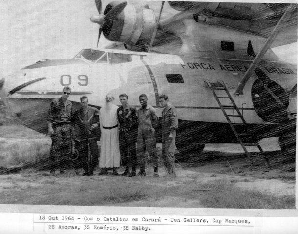 Brazilian Air Force Catalina in Cururu, Para State, 1964.