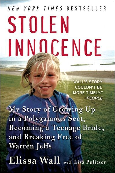 This book will blow your mind.  A really honest and personal story about the FLDS. - Elissa Wall