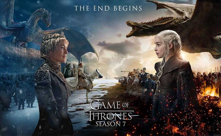 Take a look at some of these amazing Game of Thrones Season 7 fan posters