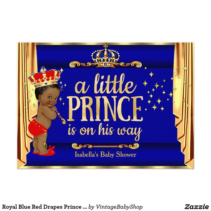 58 best images about prince baby shower on pinterest   black gold, Baby shower invitations