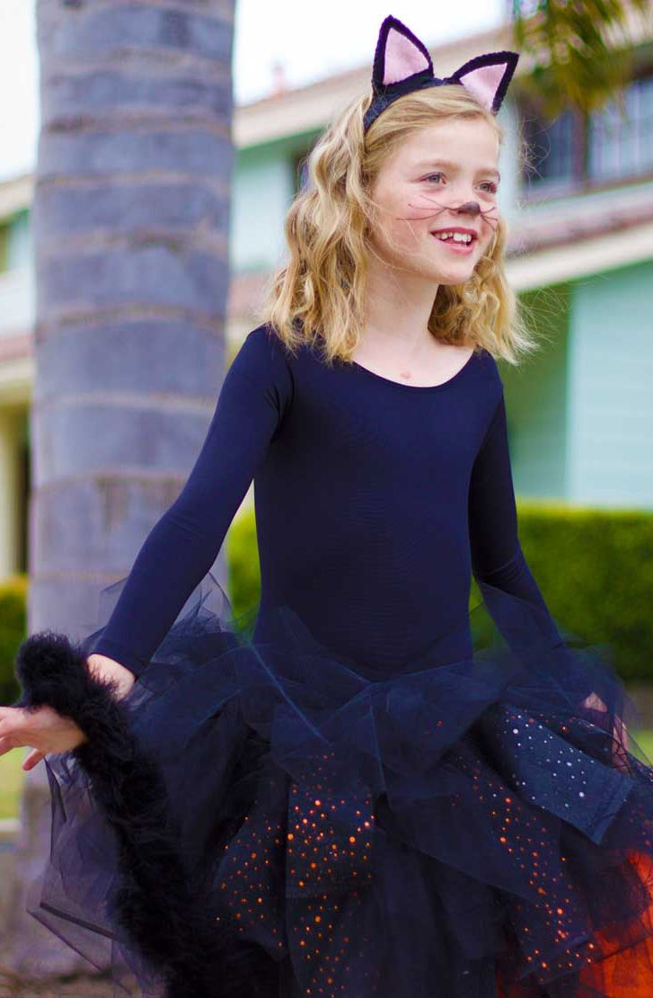 Kids' DIY Halloween costumes have never been so easy. Check out this step-by-step guide for crafting a homemade cat fairy costume for your little one. Click in to learn to create cat ears and tutu complete with tail.