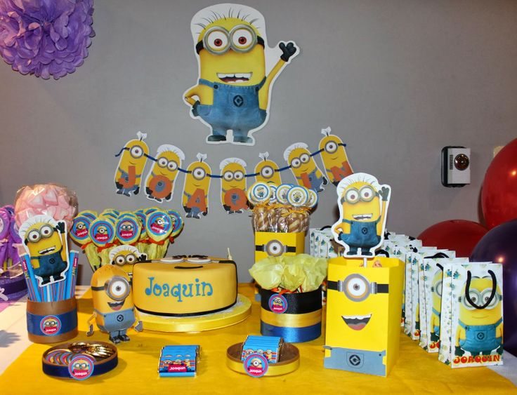 minion candy table | candy bar minion para joaquin candy bar violetta para mil
