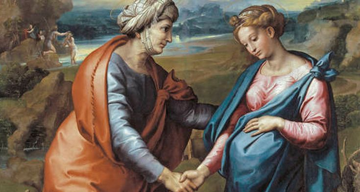 The Visitation is a c. 1517 painting of the Visitation of the Virgin Mary to Saint Elizabeth by Raphael, in the Prado Museum since 1837
