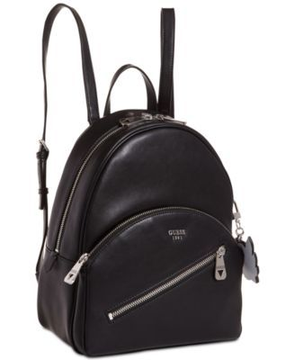 Guess Bradyn Small Backpack Black | Guess handbags, Guess