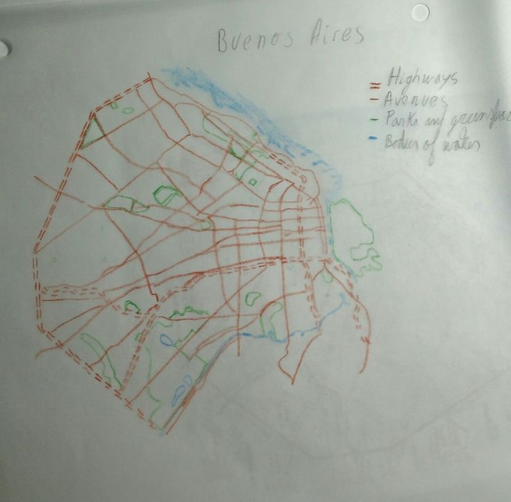 Louisiana Denmark Map%0A Week   Buenos aires highways and avenues   My name is Alejandro I study  mechanical engineering