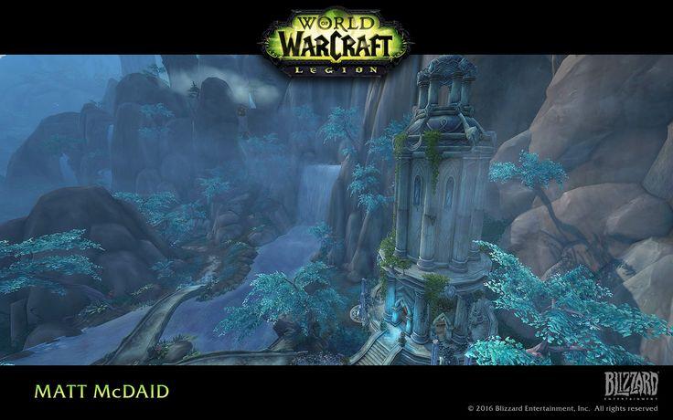 ArtStation - World of Warcraft: Legion, Matt McDaid