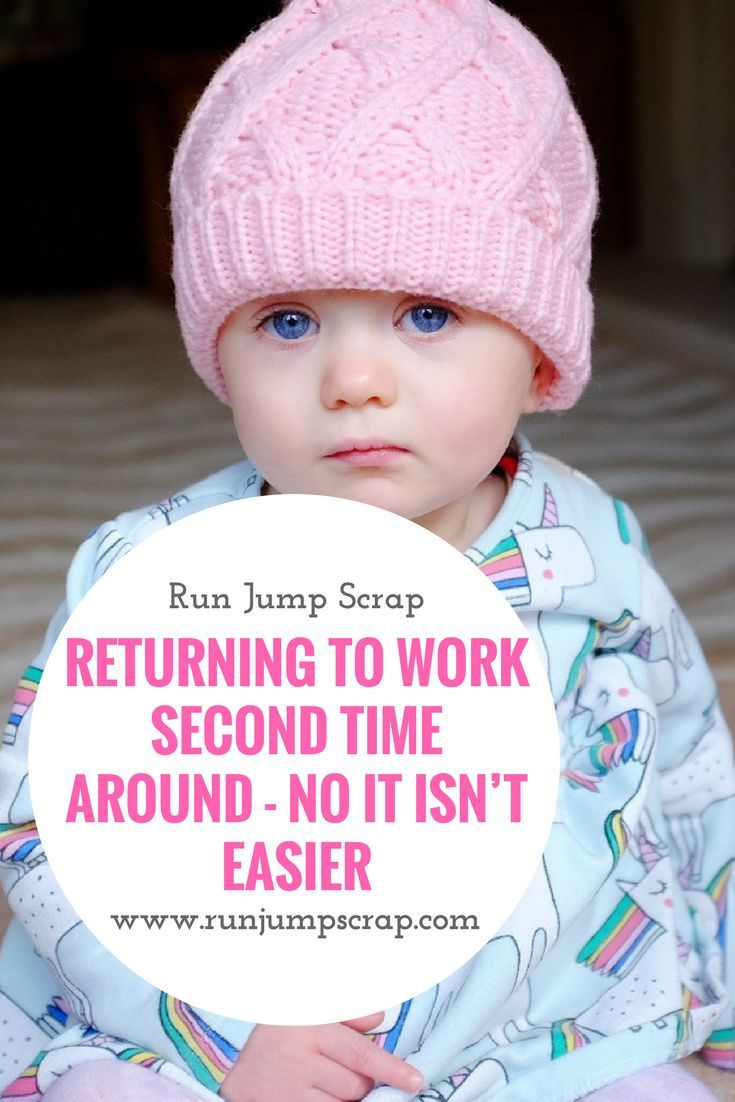 Returning to work after a second baby was not as easy as I expected. Motherhood and working is hard with all the guilt.