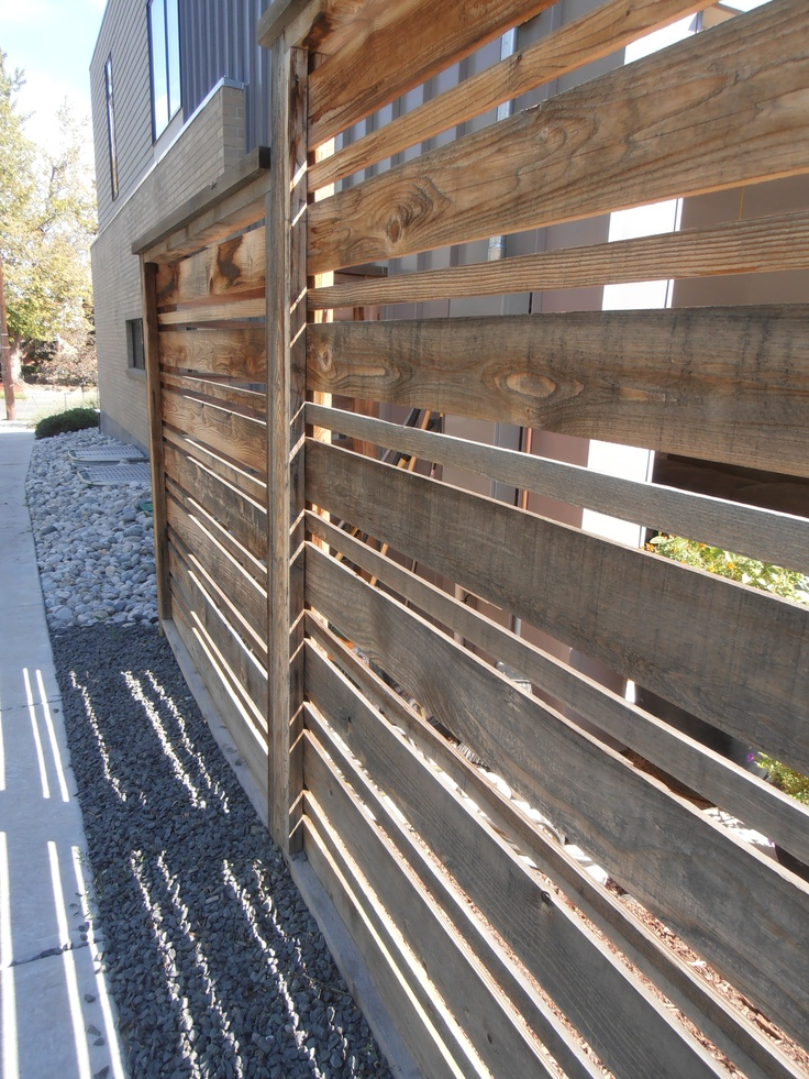 Top 60 Best Modern Fence Ideas - Contemporary Outdoor Designs  Simple Modern Fences