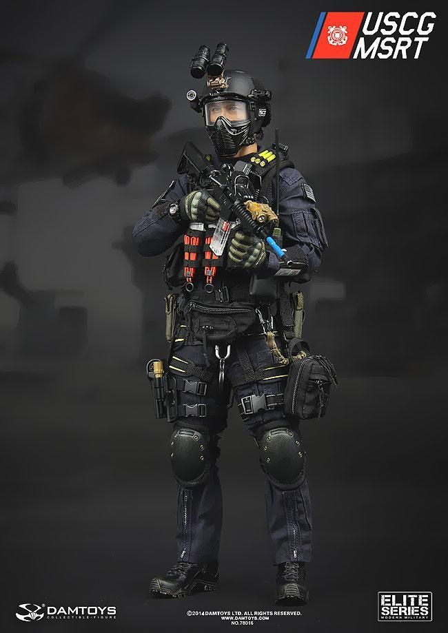 1002 best military images on pinterest military aircraft air 16 military elite series us coast guard msrt 16 collectible figure maritime security response team publicscrutiny Images