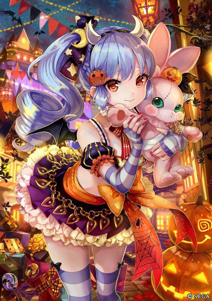 Halloween anime manga girl