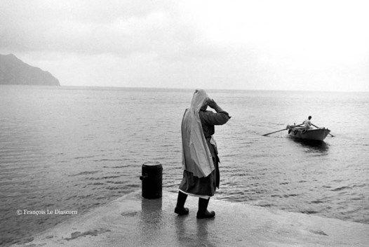"François Le Diascorn.""A vanishing world in Karpathos Greece"". Fishermen in the port village of Diaphani. https://francoislediascorn-us.com/portfolios"