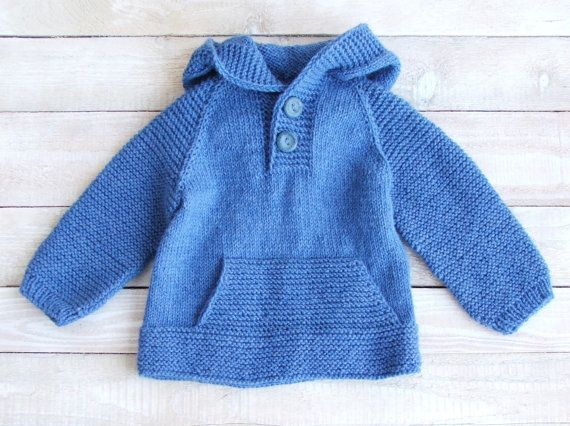 17 Best Images About Baby Boy Hooded Sweaters Knit On